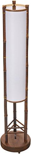Oriental Furniture 39' Koru Japanese Bamboo Shoji Lantern