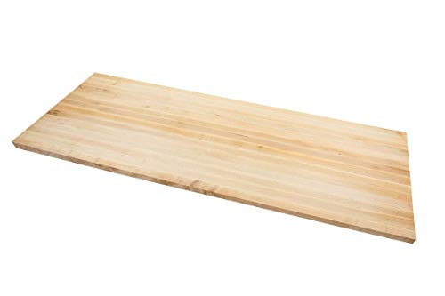 Trekpower bamboo Countertop, 72 x 25.5 x 1.5 Inch, Eco-Friendly Nature,Vertical Pressure,Food Grade,Fit To Garage & Shed/Home office/Laundry Room/Home Bar/Kitchen & Dining Room